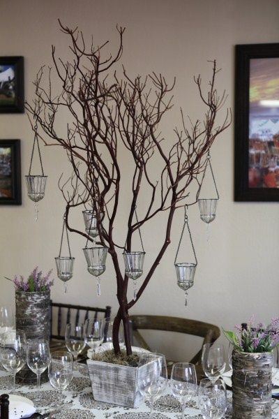 Cute and simple centerpieces encore events rentals