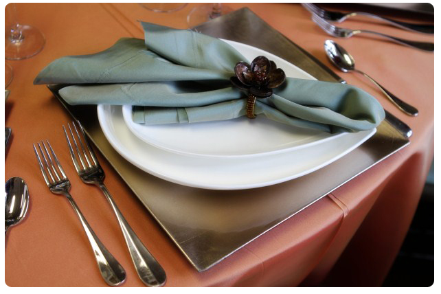 Napkin Folds Ideas For Table Design Encore Events