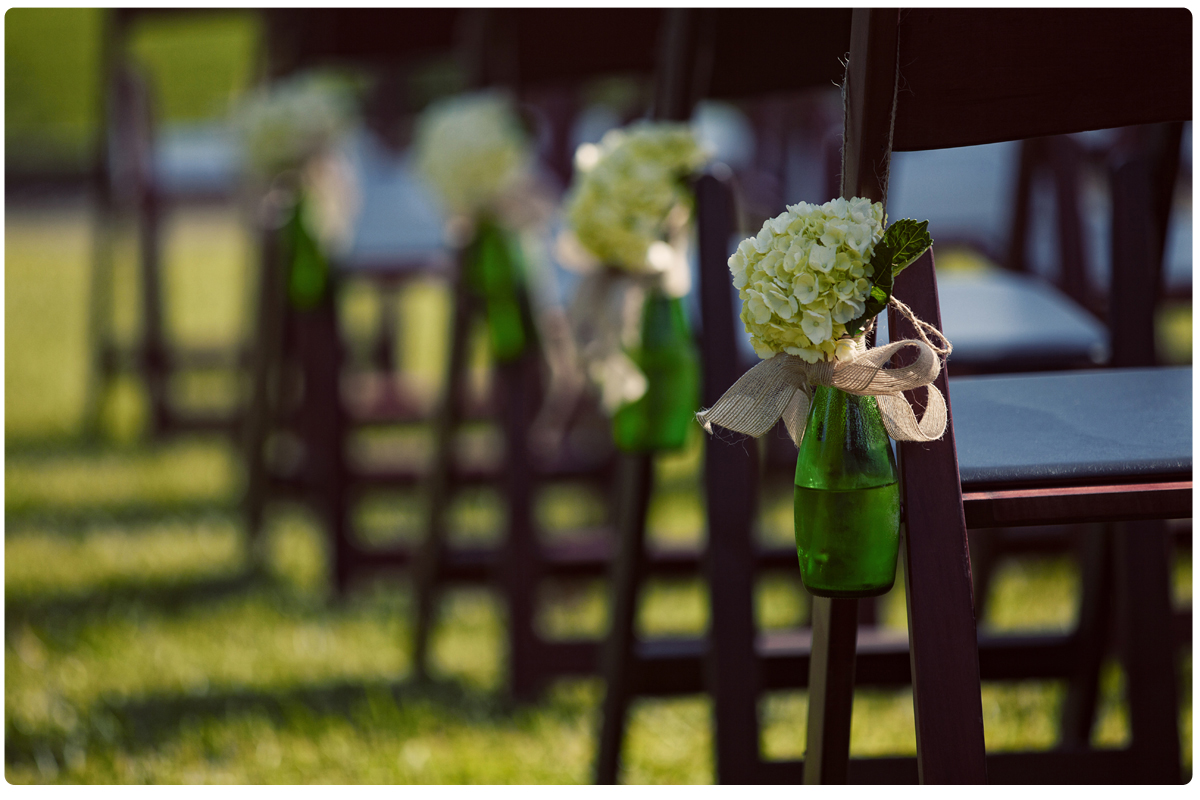 The Perfect Rustic Shabby Chic Wedding Style