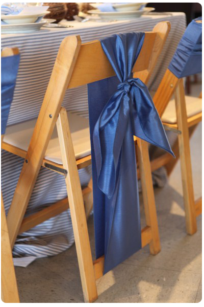 Chair Sash Ideas Pt 2 Folding Chairs