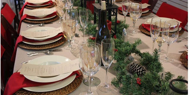 Rustic Holiday Table Design ideas