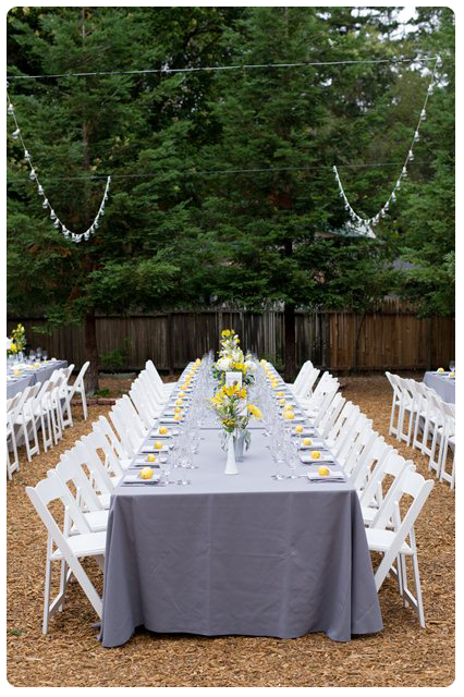 A Spring Backyard Wedding Cute Themes And Ideas