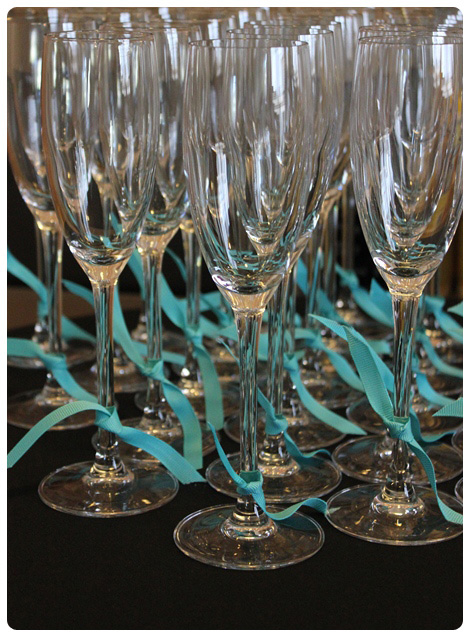 The Breakfast at Tiffanys bridal shower-Champagne