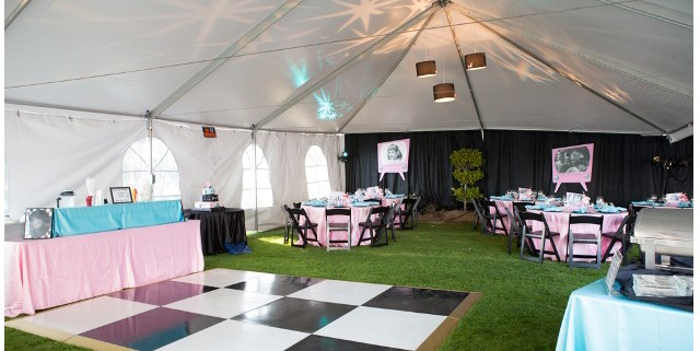 social tent rentals in wine country