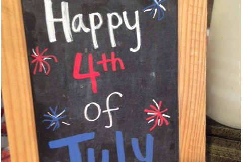 4th of July Table Design