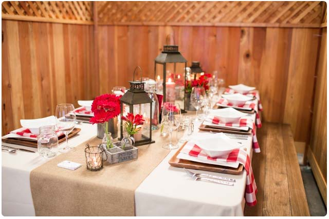 Country style table design summer bbq style ideas for Country style table