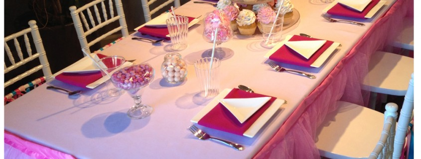 Princess Birthday Party Table | Table Design Ideas