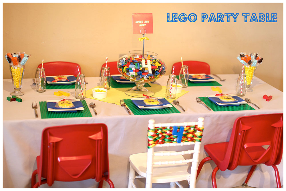 LEGO PARTY TABLE IDEAS FOR KIDS ENCORE EVENTS