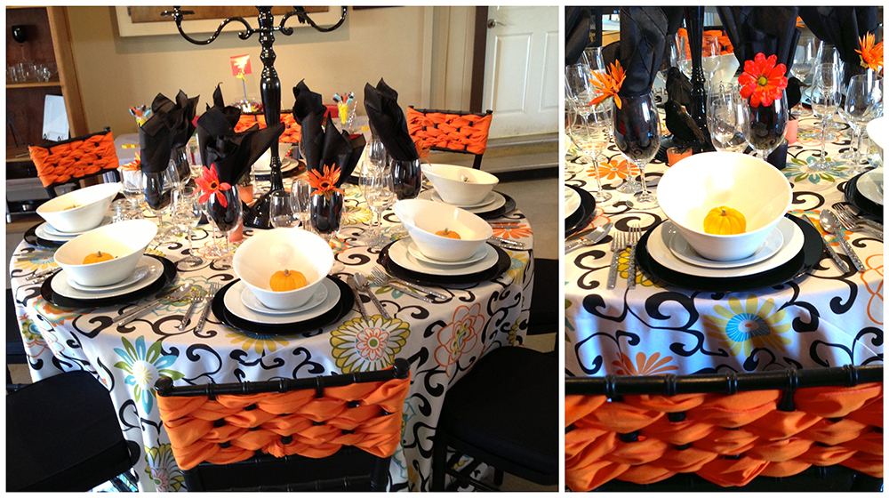Halloween table tricks halloween table designs encore events - Deco de table halloween ...