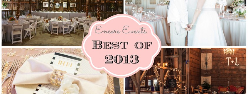 Encore Events Best of 2013