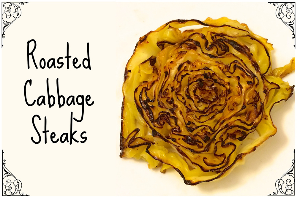 Roasted Cabbage Steaks - 1