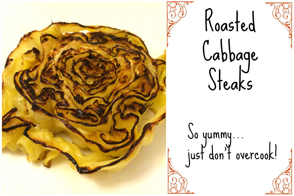 Roasted Cabbage Steaks - 5