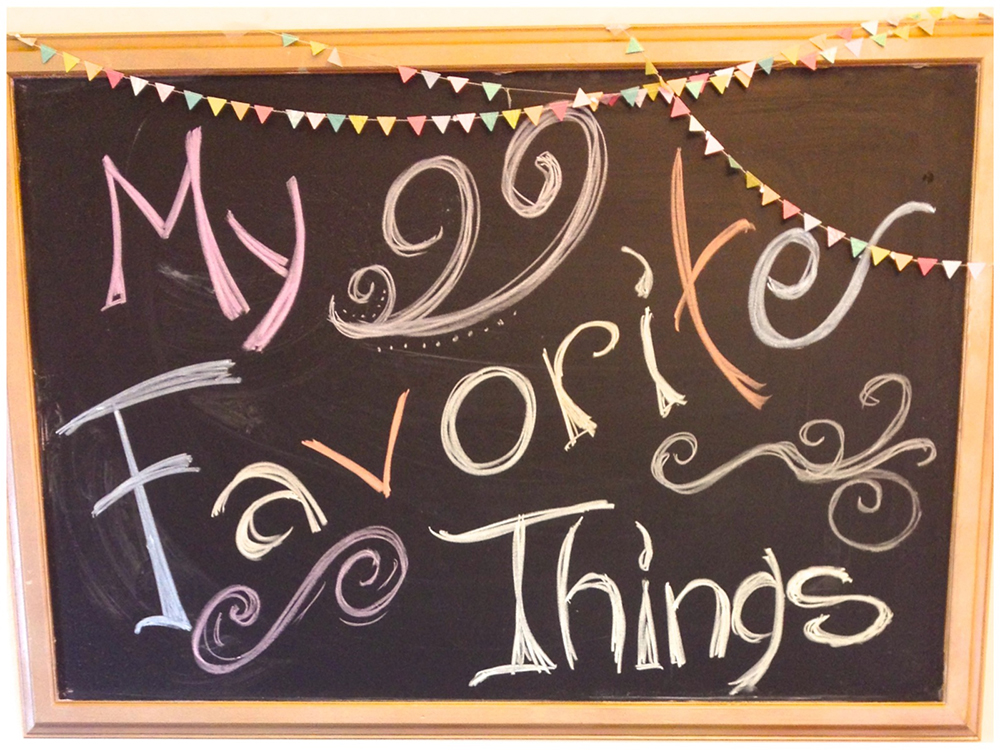 How to host a favorite things party -