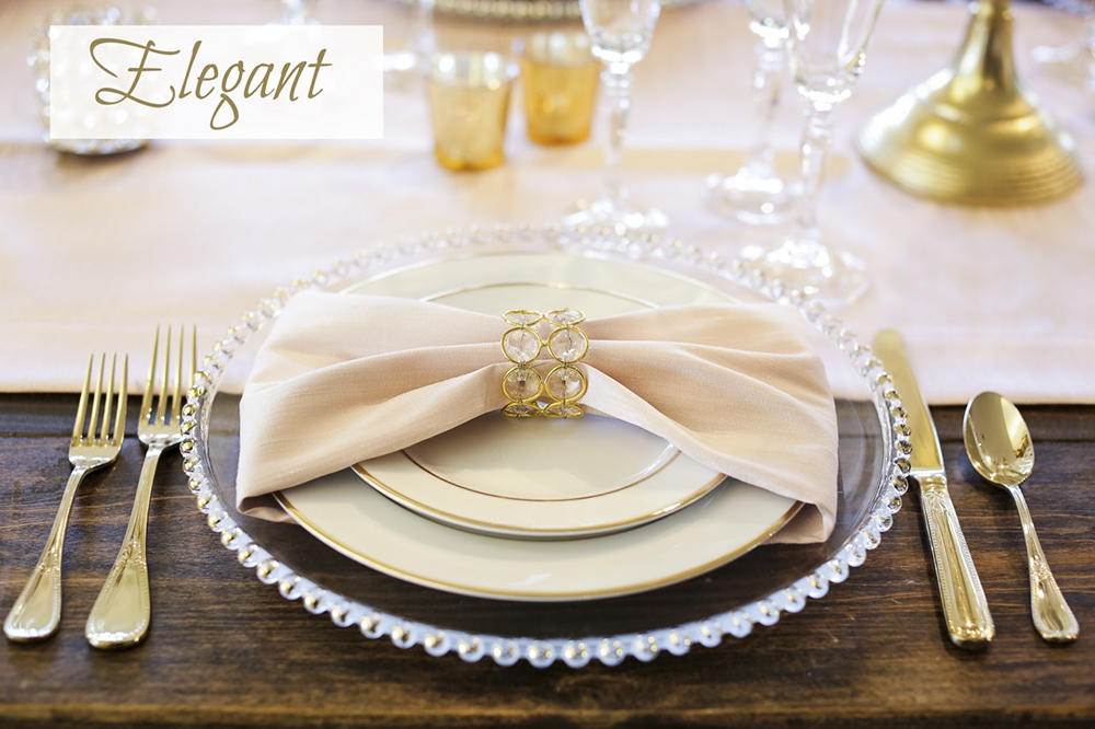 Wedding Place Settings And Table Design Ideas Encore