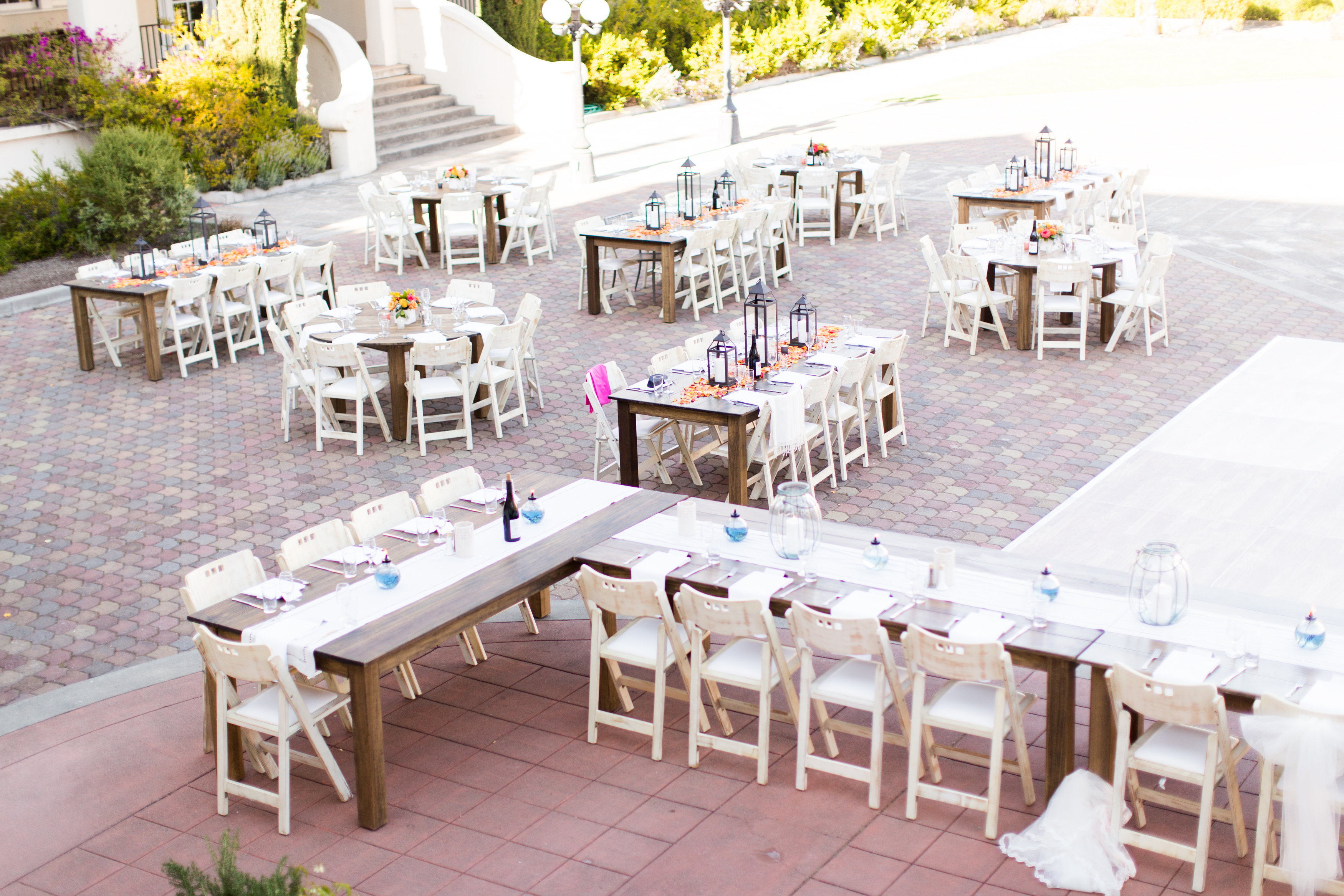 Farm tables + blonde or white chairs   Farm to Table Party ...
