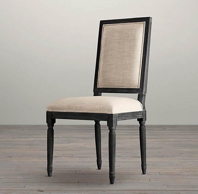 Madeline Chair Black Square Encore Events Rentals