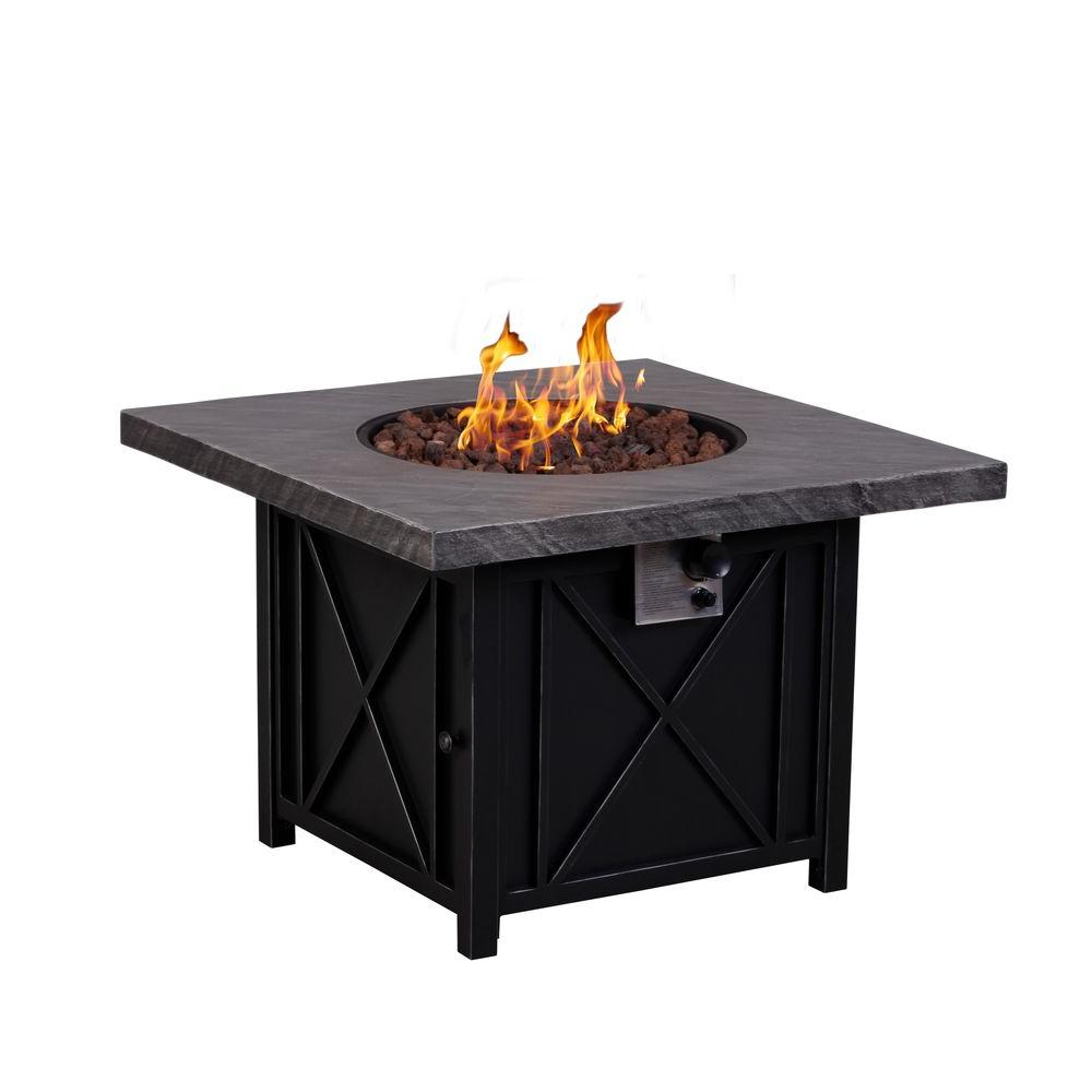 Square Fire Pit 34 Quot Propane Encore Events Rentals