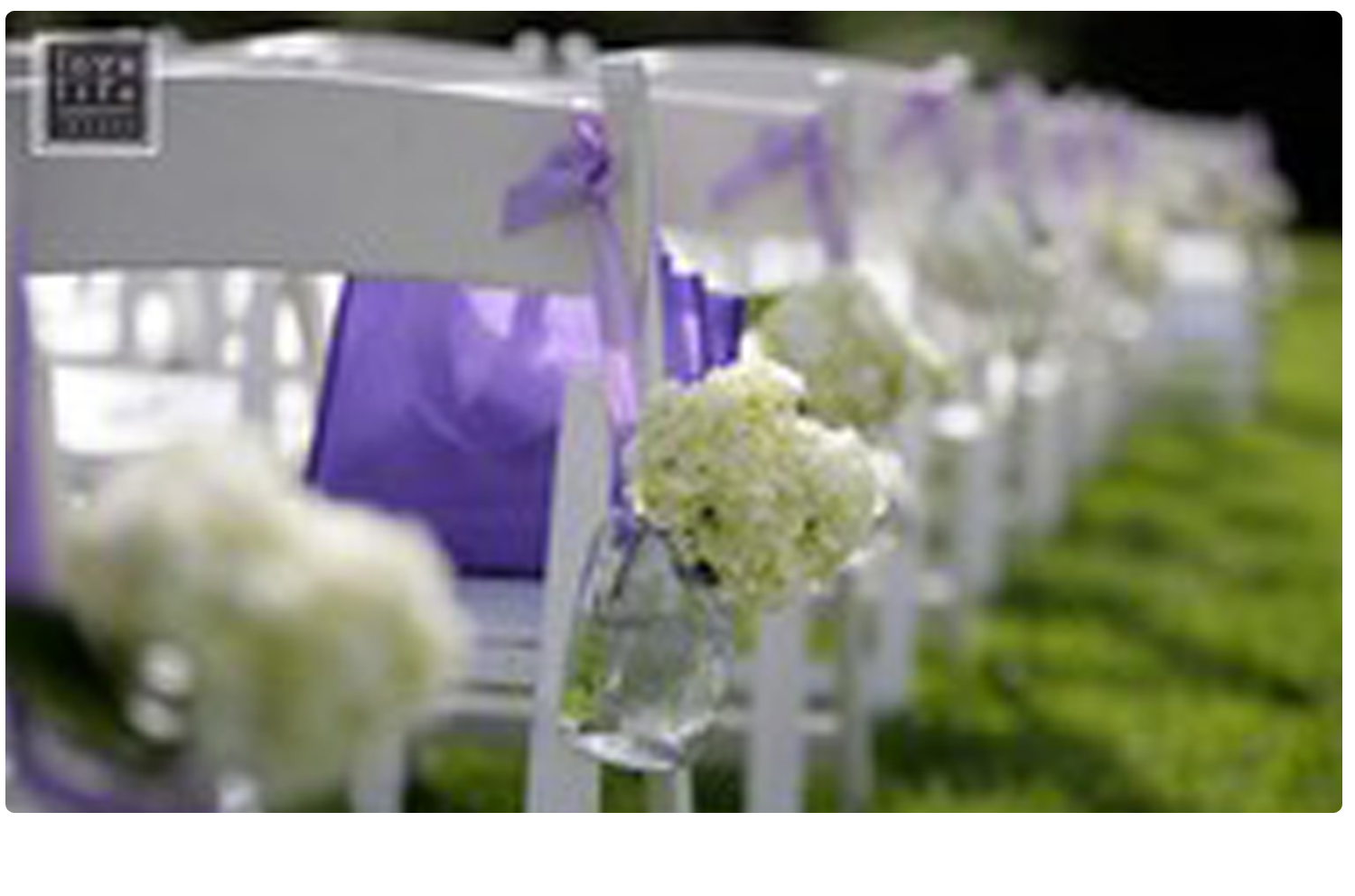 Flowers for Ceremony in Mason Jars