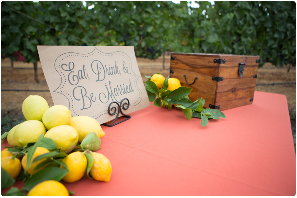 Cute Touches For the Italian Themed Wedding