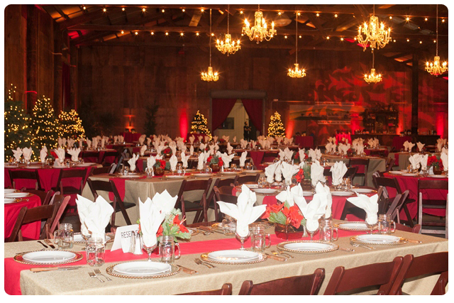 Rustic Holiday Party