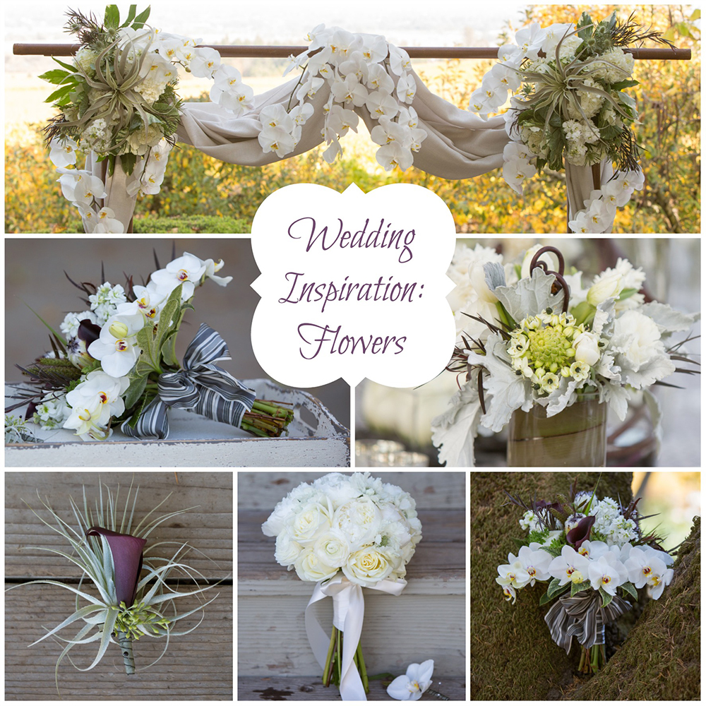 Wedding Inspiration: Elegant and Modern Wedding Design | Flowers