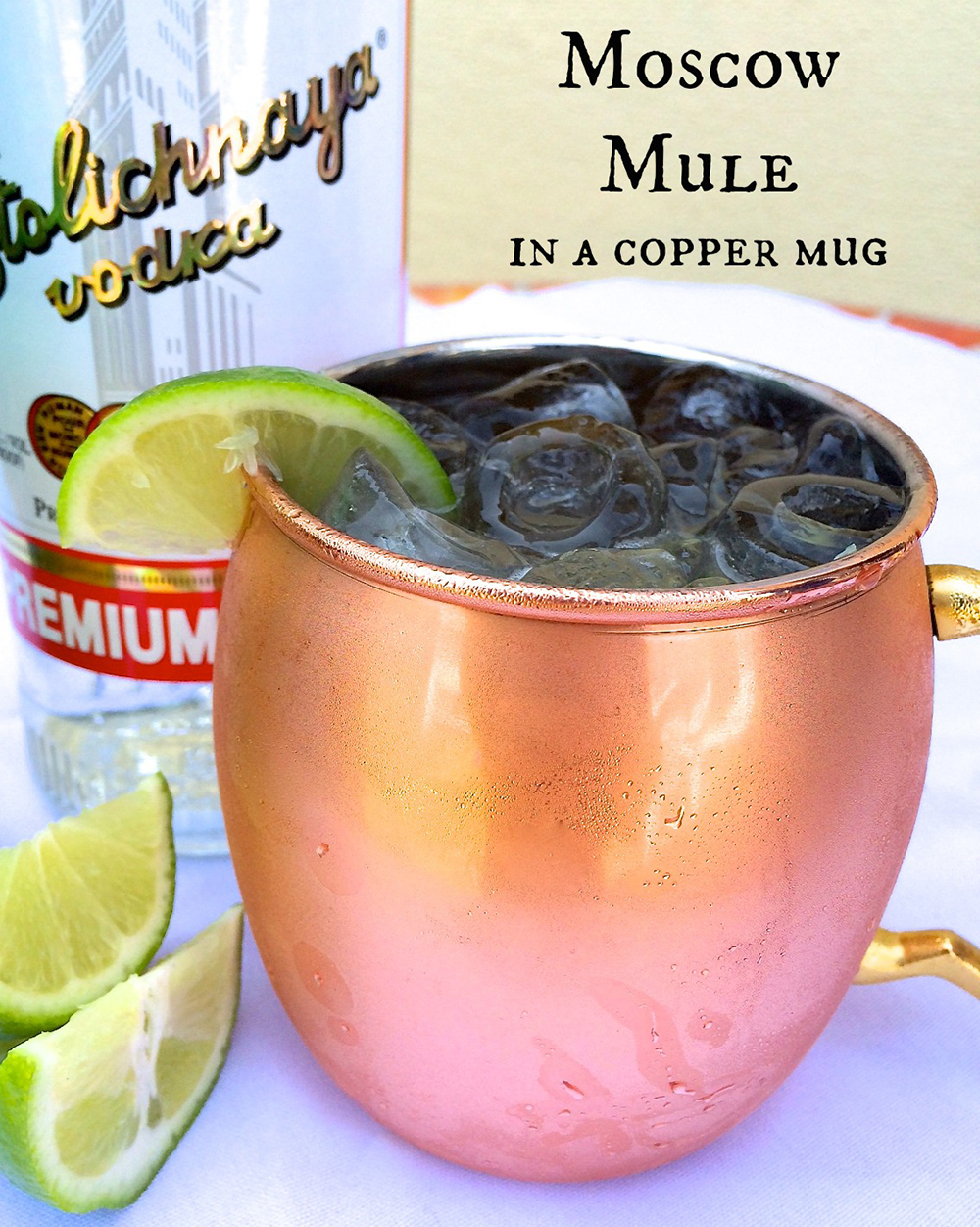 2 mule in mug labeled