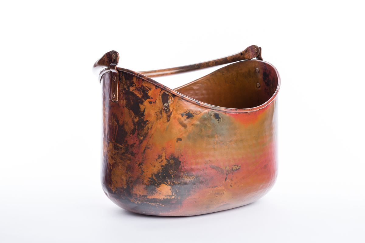 Copper Beverage Tub With Handles