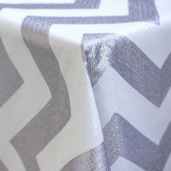 Overlay Chevron White and Silver_thumb
