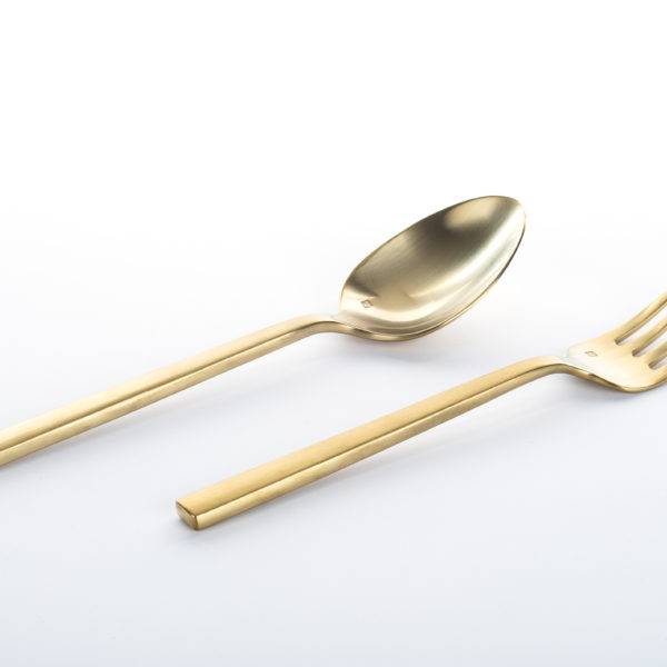Gala Gold_Serving Spoon and Fork-Utensils