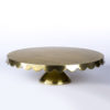 Cake Stand_Gold Scallop_18inch