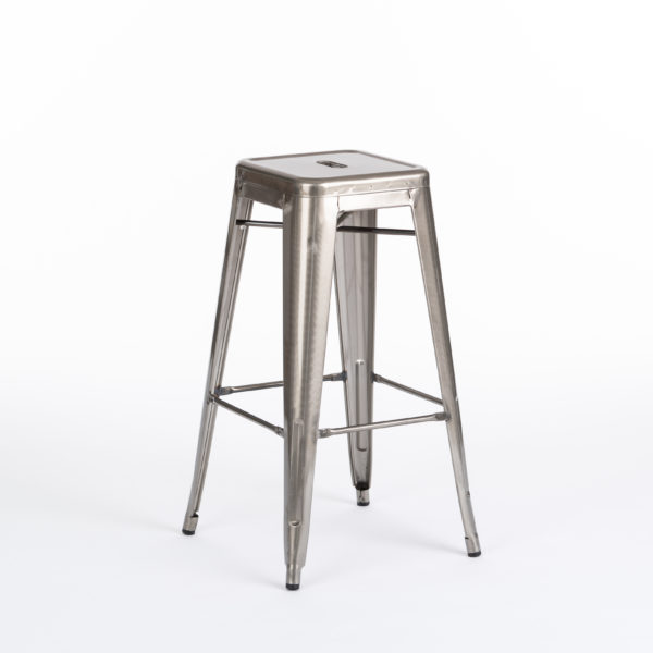 Ashton Gun Metal Bar Stool