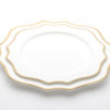 Bellissima Gold Plates_12 inch-10 inch