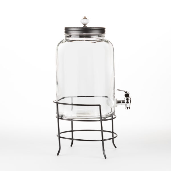 Beverage Container_2 Gal_Cylinder_wtih Stand