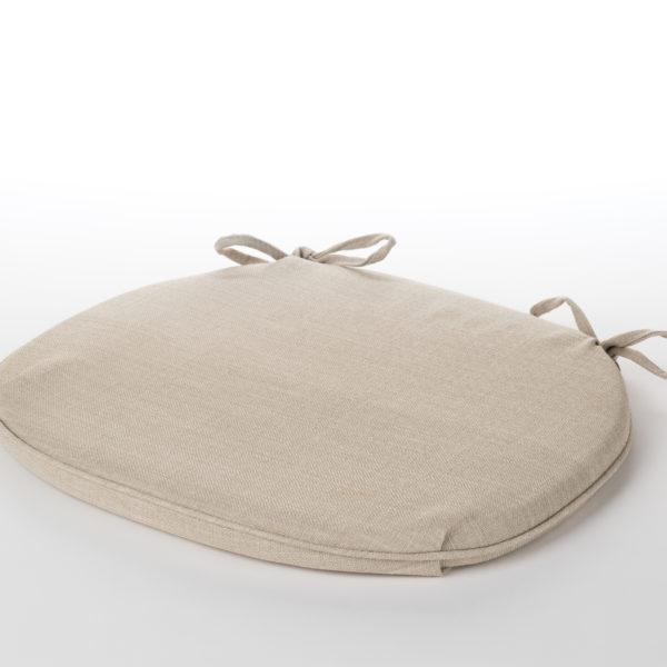 Chair Pad Natural Linen