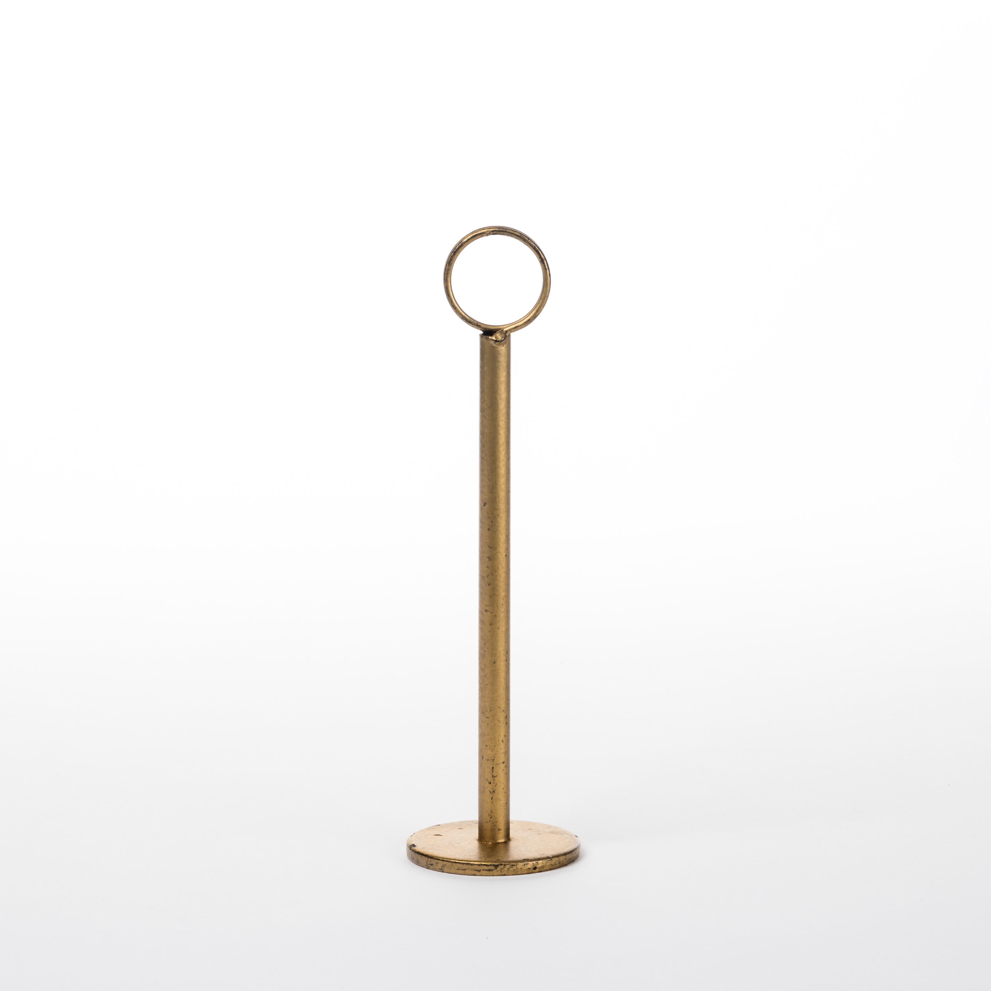 Table Number Holders Gold 8
