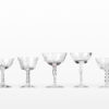Assorted Crystal Coupes