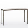 Beckett Pub Table White Distressed Wood Top