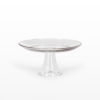 Cake Stand Glass Footed 10 inch