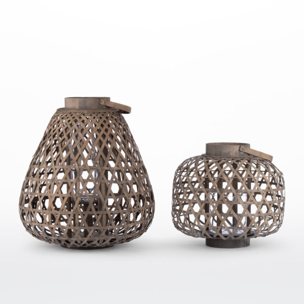 Fiji Lanterns 17 and 14 inches