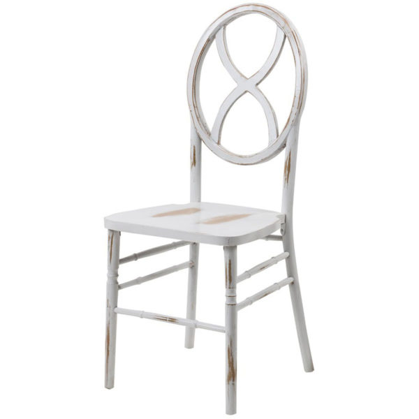Mimi_White Distressed Wood Chair_1