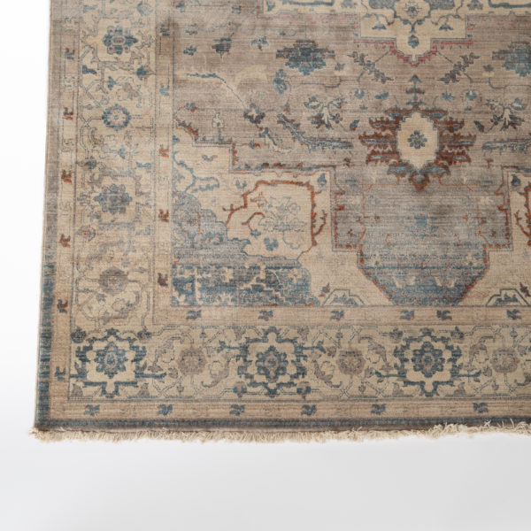 Persian Grey and Blue Area Rug
