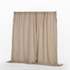 Pipe and Drape_Beige-Natural