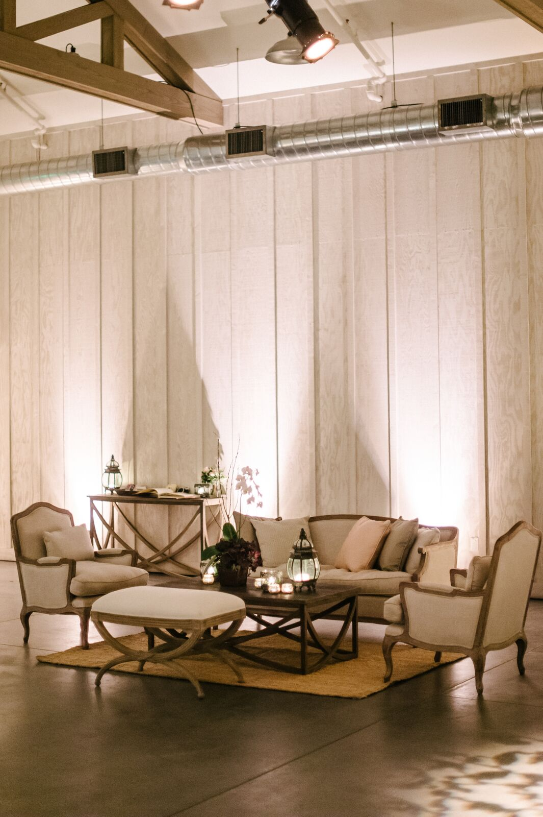 French Style Lounge Furniture Rental Encore Events